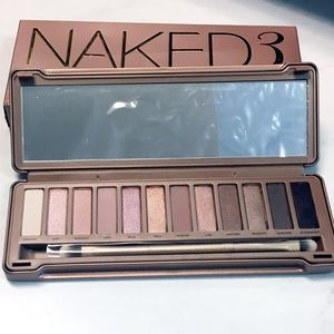 Urban Decay Naked3 Palette with original box